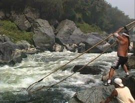 Photo of fishing in the Klamath Basin