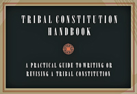 Tribal Constitution Handbook - front cover