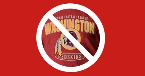 End Redskins Slur