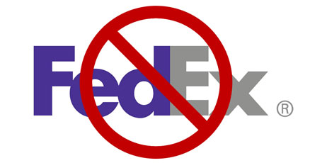 No FedEx