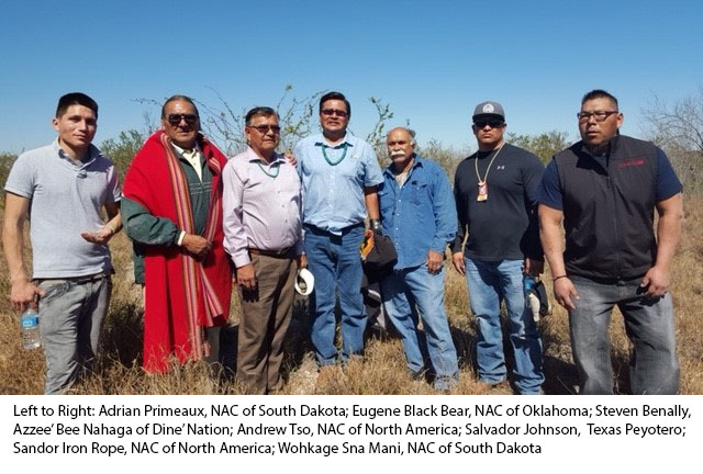 Representatives of the National Council of Native American Churches
