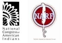 NCAI and NARF logos