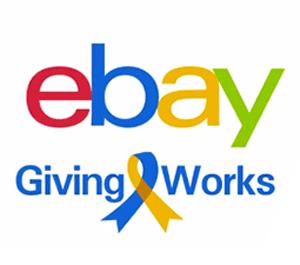 eBay Giving Works logo