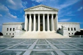 Photo of the U.S. Supreme Court building