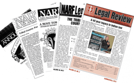 photo of Legal Review covers