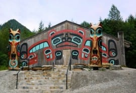 Beaver Clan House at Saxman
