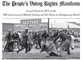 The People's Voting Rights Manifesto