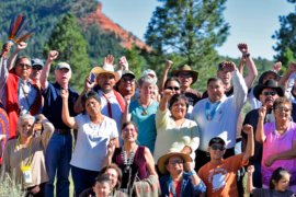 Photo of Bears Ears Gathering, Summer 2016.