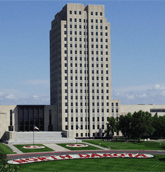 Photo of the North Dakota capitol