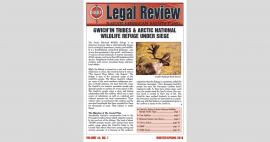 screenshot of the cover of the NARF Legal Review
